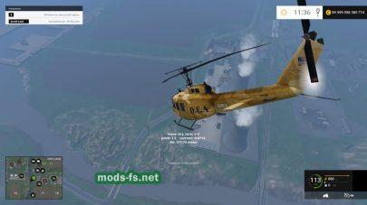 BELL UH-1D mods