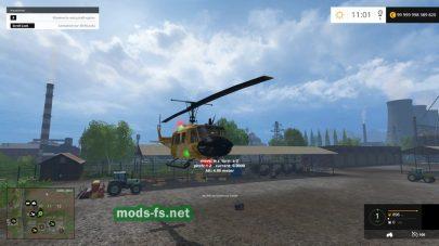 Вертолета «BELL UH-1D» для FS 2015