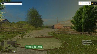 Болото на карте в игре Farming Simulator 2015