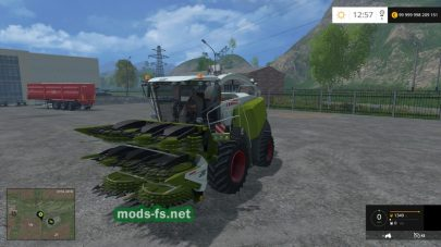 Мод Claas Jaguar 980 Dynamic Power v1.0