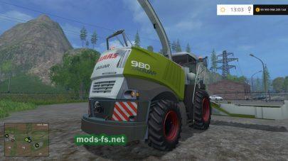 Комбайн для уборки кукурузы в FS 2015