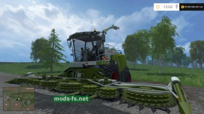 claas jaguar 980 dynamic mods