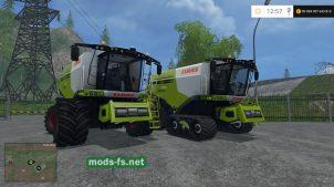 Два комбайна Claas Lexion 780 для FS 2015