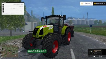 Мод Claas Tractor Edit