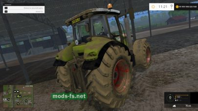 Claas Tractor Edit для FS 2015