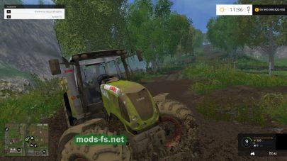 Мод трактора Claas для FS 2015
