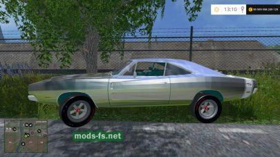 Мод легкового авто DODGE для Farming Simulator 2015