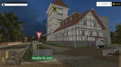Здания на карте