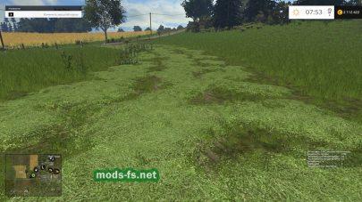Скошенная трава на карте «Fantasy Reloaded»