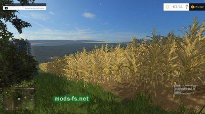 Выращивание кукурузы в игре Farming Simulator 2015
