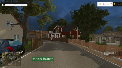 Дом на карте в игре FS 2015