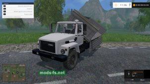 Мод ГАЗ-3308: самосвал