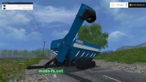 "Мод ""KINZE 1300 GRAIN CART"" для FS 2015"