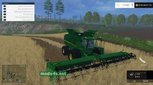 """Мод """"John Deere 640 Turbo Edition"""" для FS 2015"""