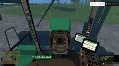 Мод трактора John Deere 9560RX для Farming Simulator 2015