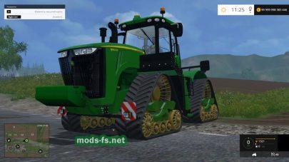 Мод гусеничного трактора John Deere 9560RX