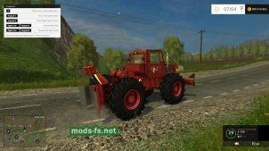 Мод трактора TAF-657 для FS 2015