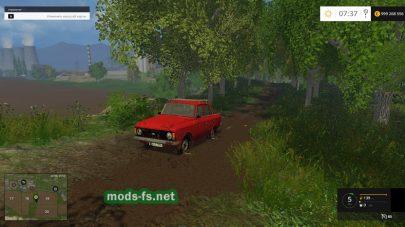 Автомобиль Москвич-412 для Фермер Симулятор 2015