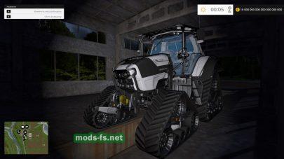 Трактора на резиновых гусеницах для FS 2015