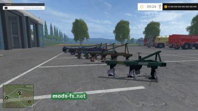 Набор плугов ПЛН для Simulator 2015