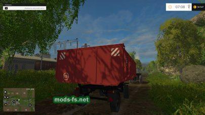 Мод 2ПТС-4.5 для FS 2015
