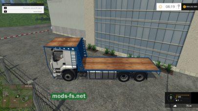 Мод грузовика для перевозки тюков в FS 2015