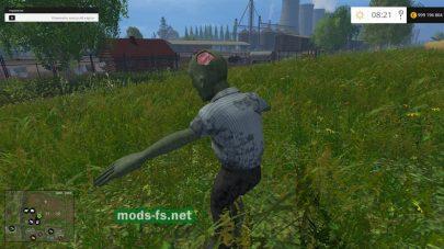 scarecrow zombie