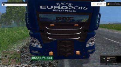 Мод тягача DAF XF для FS 2015
