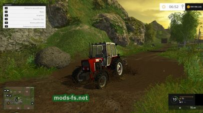 ЮМЗ 4х4 для Farming Simulator 2015
