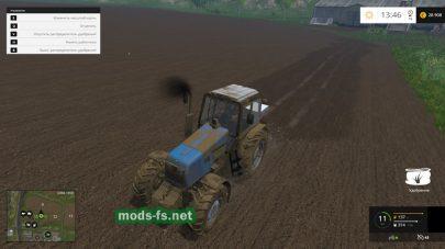 Трактор МТЗ-1221 для игры Фермер Симулятор 2015