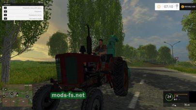 Мод старого трактора МТЗ-45