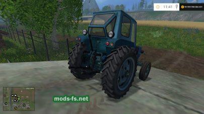 Мод старого трактора UMZ для фермы