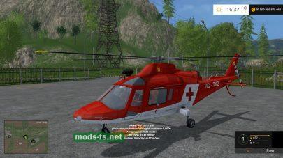 Мод «Agusta A109 Secours» для FS 2015