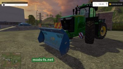 Мод отвала для Farming Simulator 2015