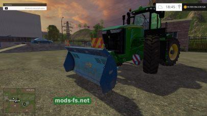 Мод отвала для Farming Simulator 2015