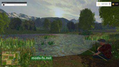 Рыбалка в игре Farming Simulator 2015