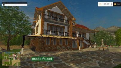 Большой дом в игре Farming Simulator 2015