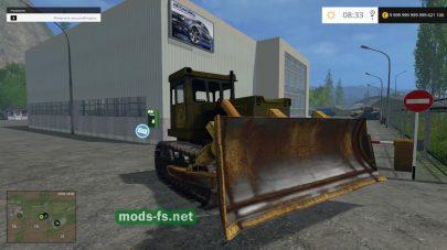 Бульдозер Т-130 для Farming Simulator 2015