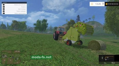 Мод «Claas Rollant 44s v1»