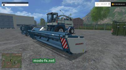 Комбайн Енисей 324 для Farming Simulator 2015