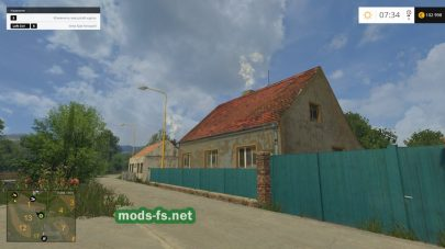 Деревня Словакии в игре Фермер Симулятор 2015