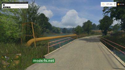 Мост на карте