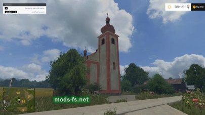 Церковь на карте Slovakia Map v1.1 Gulle