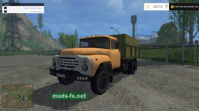 Мод ЗИЛ-130 для Farming Simulator 2015