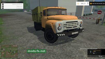 Скриншот мода ЗИЛ-130