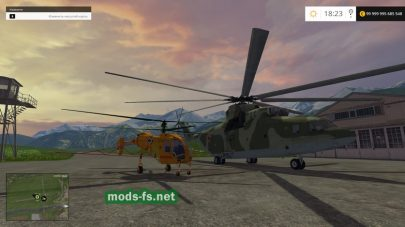 Мод Helicopters v1.0 для FS 2015