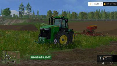 Мод трактора JOHN DEERE 9560R COMPACT
