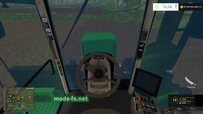 Скриншот мода «JOHN DEERE 9560R COMPACT»