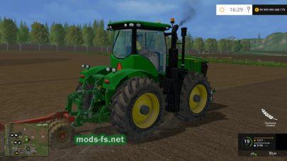 Мощный трактор john deere-9560r для игры FS 2015