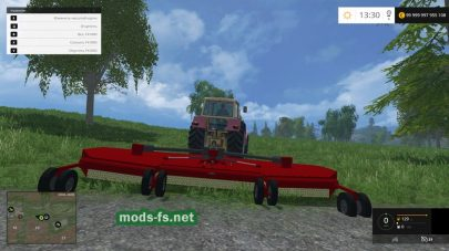 John Deere Brush Hog для FS 2015
